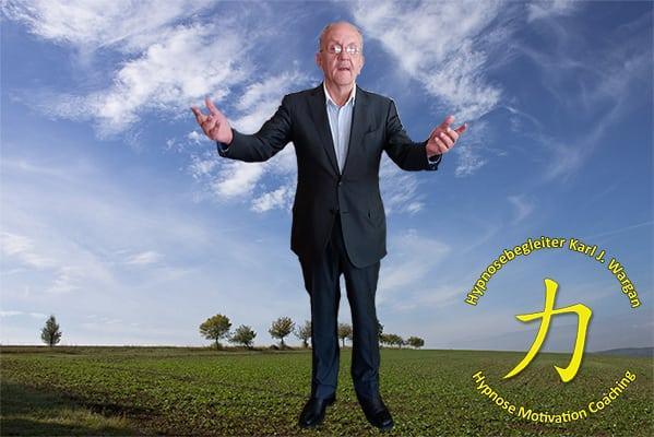 Persönlichkeitsentwicklung Hypnosebegleiter Karl J Wargan