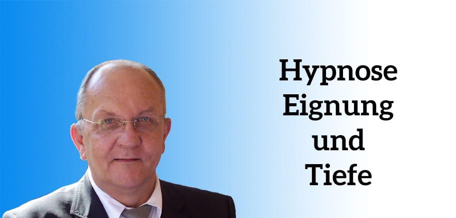 Eignung und Tiefe der perfekten Hypnose