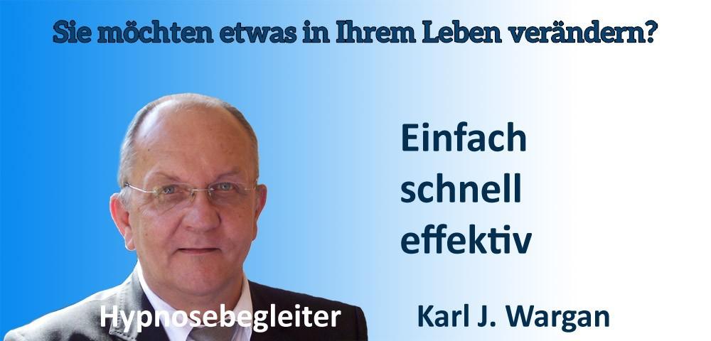 Karl J Wargan - Hypnosebegleiter